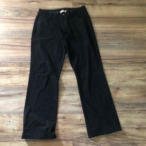 GAP- curvy size 10- Black Trousers